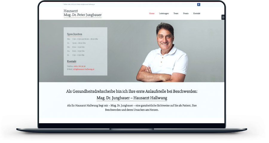 website hausarzt referenz